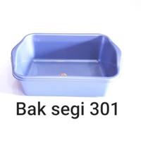 BASKOM KOTAK SILVER/ BAK SEGI/ BAK TAHU/ CUPANG/ KUCING 301 KOMET STAR