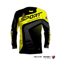 Kaos Baju Jersey Motor Cross Trail Original Tshirt Printing 3D Distro