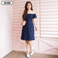 MARSELIC SABRINA DRESS (055) - Pakaian Wanita 100% Real Picture