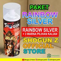 Cat Bunglon Rainbow Silver Shogun Z cat semprot motor terbaik
