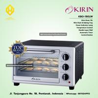 Kirin Oven Listrik Electric 19 Liter Low Watt KBO-190LW / KBO 190 LW