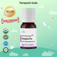 Natuna Cough & Flu Essential Oil Minyak Aroma Terapi Diffuser Difuser
