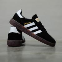 Sepatu Sneakers Original Adidas Spezial Handball Black White Gum