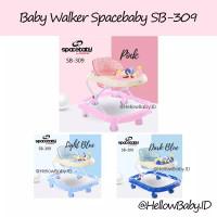 Baby Walker Spacebaby SB-309 Murah Meriah dan Bagus Ada Mainannya