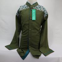 Fashion Baju Koko Muslim Anak Laki - laki Lengan Panjang Baru Murah
