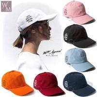 Topi baseball anti social social club ASSC Variant warna Tumblr cap