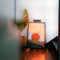 Vigne.onette – Aradia - Lukisan Neon flex wall decor/ wall art