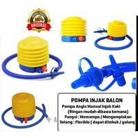 Pompa Angin Injak Manual - Pompa Balon - Pompa Kolam