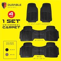 Dodge Journey Nitro Datsun GO+ Karpet Mobil Karet PVC DURABLE 4Pcs