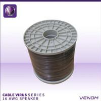 venom car audio kabel speaker virus 16awg / meter