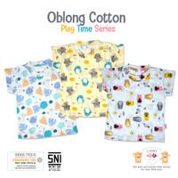 Libby Baby - 3pcs PLAY TIME SERIES Oblong Cotton Tipis Pendek