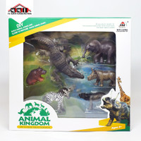 New Canna Animal Kingdom - Habitat Set 6 Jenis Hewan