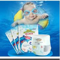 BK132 Diapers Renang Bayi Sekali Pakai Popok Tahan Air Baby Swim Pants