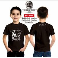 Kaos Baju Anak MOTOR HONDA ALL NEW PCX Kaos ANak Otomotif - Gilan