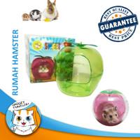 Hamster Apple House - Rumah Mainan Sauna Lucu Unik Bentuk Apel