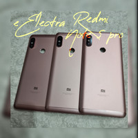 backdoor tutup belakang xiaomi redmi note 5/5pro full set