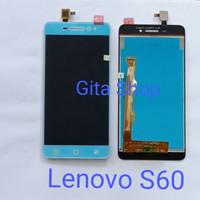 LCD LENOVO S60 S60A FULLSET + TOUCHSCREEN ORIGINAL - Putih