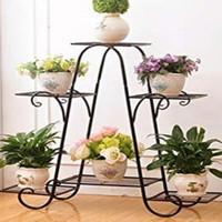 rak pot bunga besi