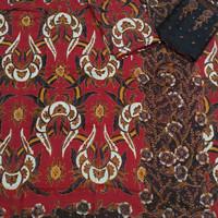 bahan sarimbit kain sutra batik tulis couple