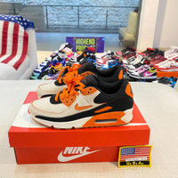 Sepatu Nike Airmax 90 Home and Away Safety Orange Authentic (Mens)