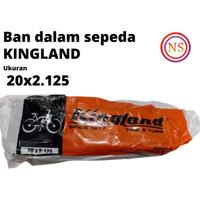 Ban dalam sepeda/ban dalam kingland ukuran 20x2.125