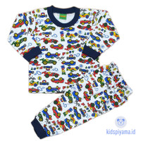 Baju Tidur Anak/Piyama Anak Mobil 1-8 Tahun - 2