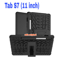 Samsung Galaxy Tab S7 | 11 inch - Rugged Armor Back Case Cover Stand