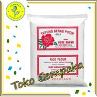 Tepung Beras Putih Rose Brand / 1 Dus (500gr)