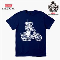 Kaos Baju Motor Honda C70 Astronaut Kaos Otomotif - Karimake