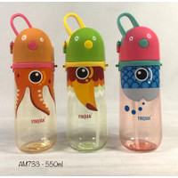 BOTOL AIR MINUM ANAK FOOD GRADE BPA FREE 550mL- AM733
