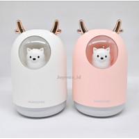 Humidifier diffuser/ Aroma terapi / Portable air purifier Lampu tidur