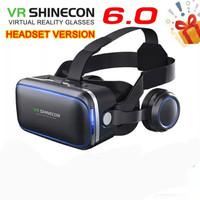 kacamata VR 3D box shinecon google cardboard