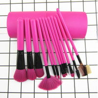 T22 Kuas Make Up Tabung 12 in 1 Set Alat Makeup Brush Rias Impor