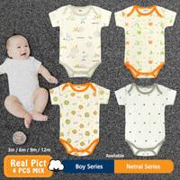 Baju Bayi Jumsuit jumper Bayi 4in1 PREMIUM BN-5211/BN-5211-02