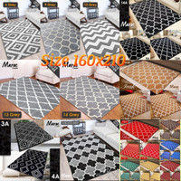 Karpet lantai motif minimalis scandinavia 160x210