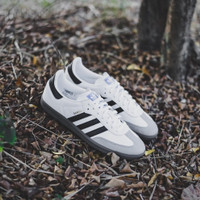 ORIGINAL 100%! Sepatu Casual Adidas Samba OG White Black BNIB