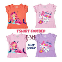Kaos Baby Atasan girl 1-3 tahun-like Victory - SIZE S, Random