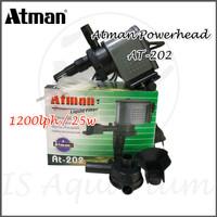 Atman Power Head AT202 AT-202 AT 202 1200 PowerHead Filter Pompa Air