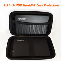 Dompet Tas Hard Disk Powerbank Case for HDD 2.5 inch Harddisk Pouch