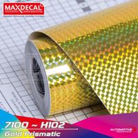 Maxdecal H102 Hologram 60cm Gold Prismatic Scotlet Cutting Meteran