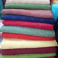 BAHAN KATUN DOBY/tenun doby termurah/kain doby bahan kebaya kutu baru