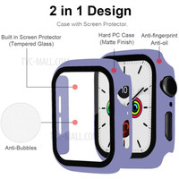 Case + Tempered Glass Apple Watch 38mm 42mm 40mm 44mm series 1/2/3/4/5