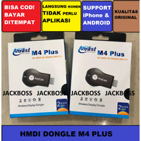 DONGLE HMDI Any Cast M4 Plus Wifi Display Dongle Mediatech Receiver