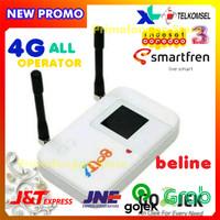 Modem Mifi Bolt E5372 Slim/Max 4G Unlock All Operator Support Antena