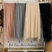 Skirt Rok Tutu Mutiara Maxi Import BKK/Rok ceruty sia mutiara