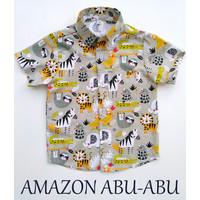 Kemeja Kaos Baju T-shirt Anak Keren Lucu Seri Animal Hewan