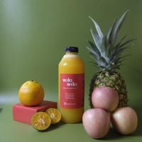 1 Liter Juice - Wiki Paradise - Jus Buah Jeruk, Apel & Nanas