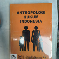 buku antropologi hukum Indonesia