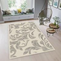 ARTSY - Karpet Living Room Anti Slip - 90 x 150 cm - Putih