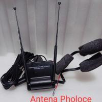 Antena Booster Pholoce - New UHF-VHF - Antena TV Mobil- Dinasti Audio
